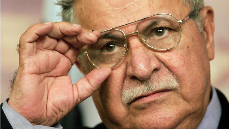 Jalal Talabani - antigo presidente do Iraque