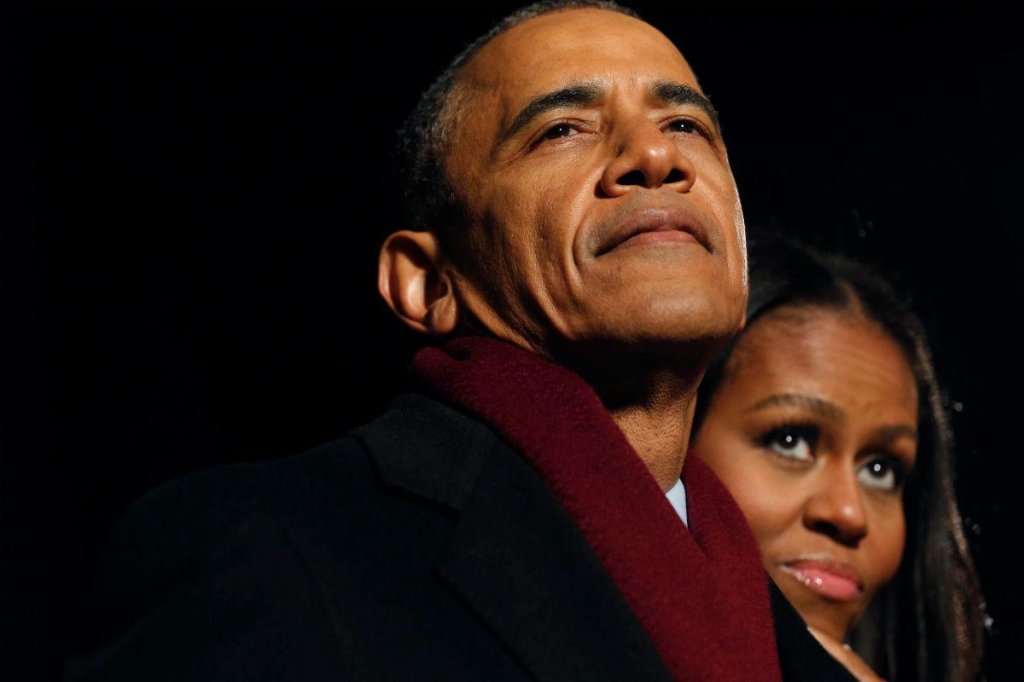 O amor de Barack e Michelle Obama
