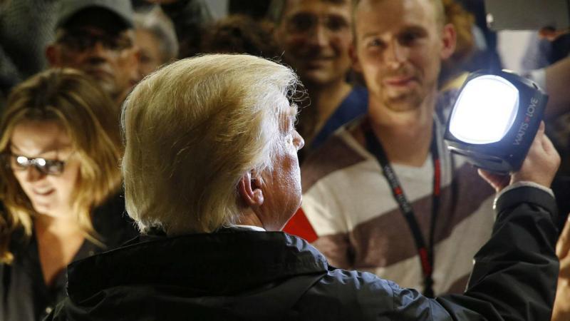 Donald Trump em Porto Rico