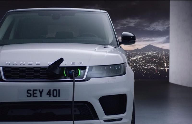 Novo Range Rover híbrido vai ter um plugin elétrico