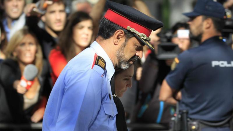 Josep Lluís Trapero, chefe da polícia da Catalunha