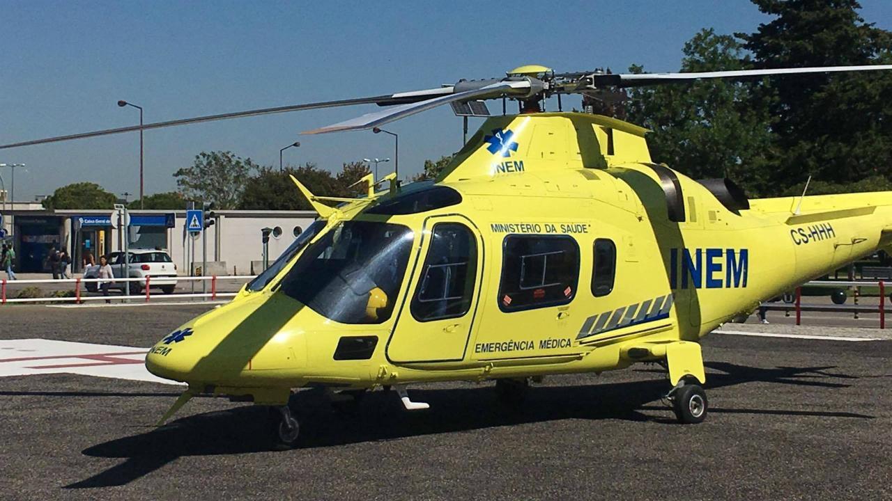 Helicóptero do INEM
