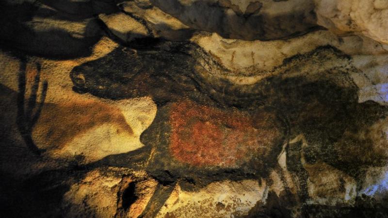 Grutas de Lascaux (sudoeste de França)
