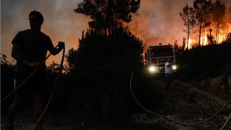 Incêndio - Pombal