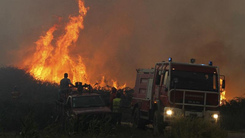 Incêndio em Pombal