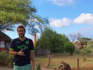 Pedro Guerra no Kilimanjaro (Quénia)