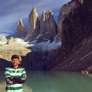 Pedro Guerra na Patagónia (Chile)