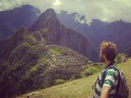 Pedro Guerra no Machu Pichu (Peru)