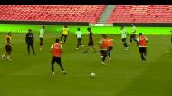 Seleção: «operação Suíça» arrancou com 13 jogadores