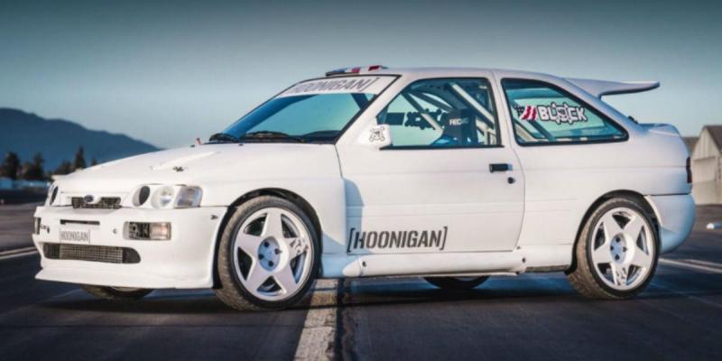 Ken Block - Ford Escort Cosworth (reprodução Facebook)