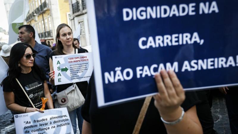 ASAE - protesto