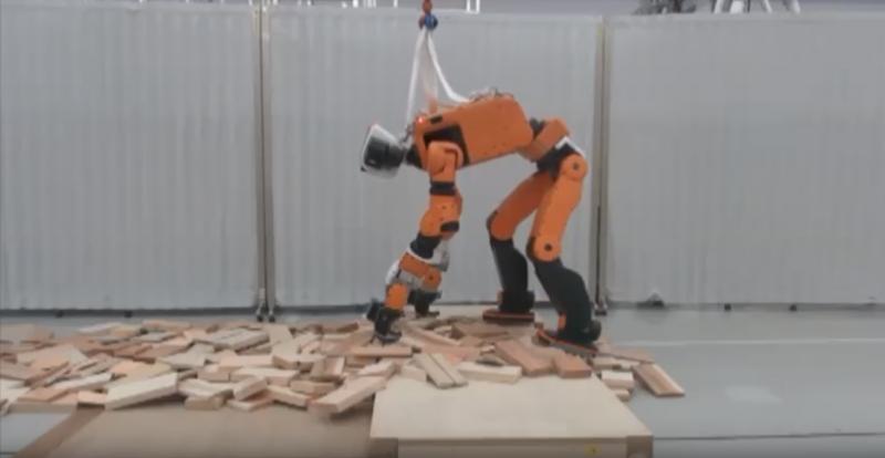 E2-DR: o robô da Honda