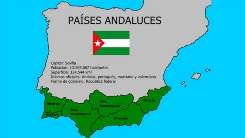 Movimento quer país independente no sul da Península Ibérica