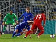 Macedónia-Liechtenstein (Reuters)