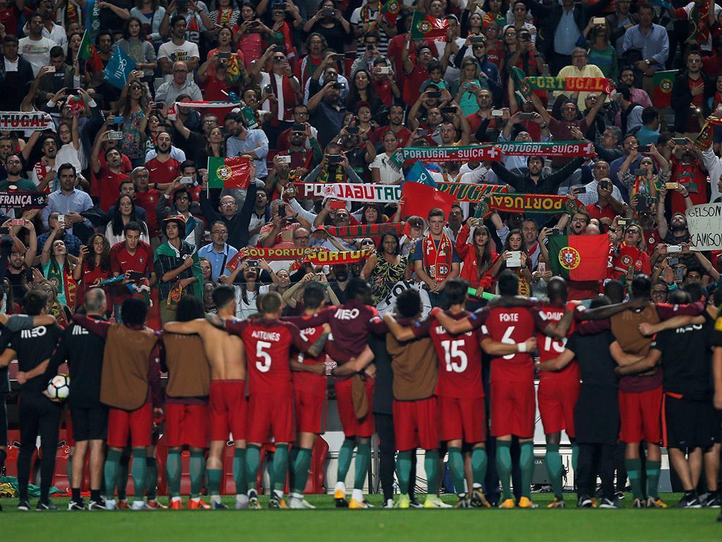Portugal marca presença no Mundial2018 (Reuters)