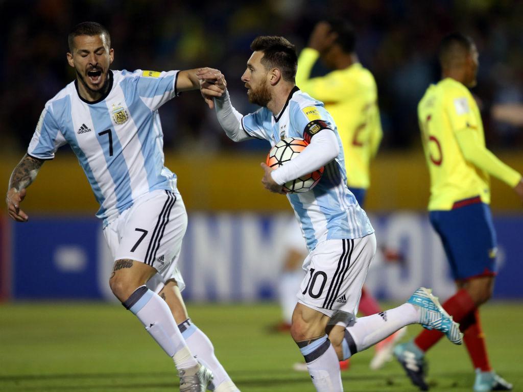 Equador-Argentina: emoções ao rubro