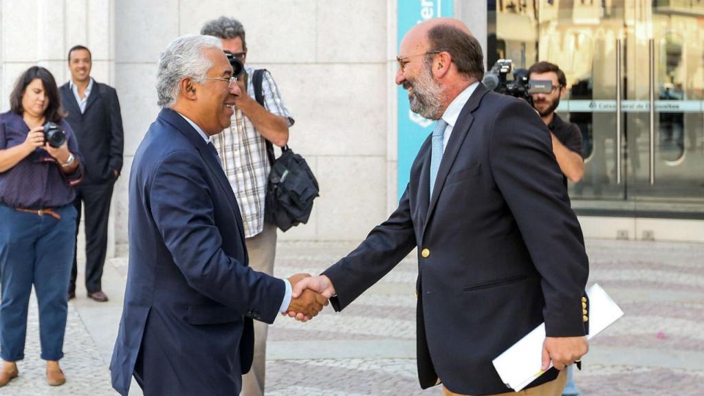 António Costa e João Pedro Matos Fernandes