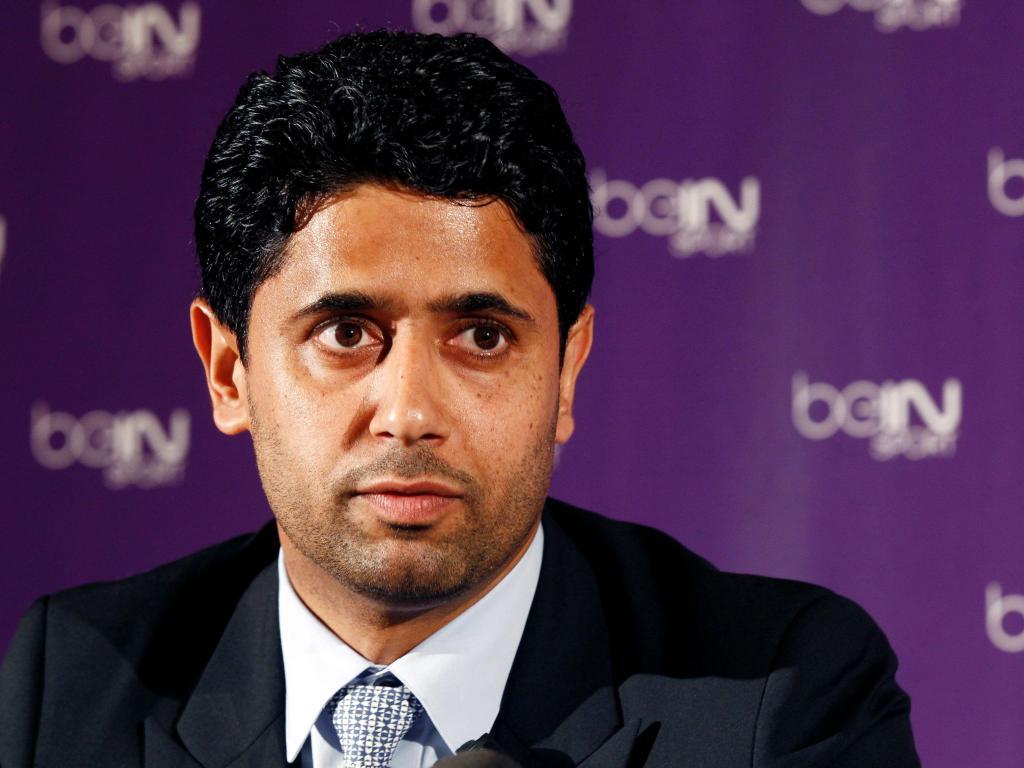 Nasser Al-Khelaifi ( Reuters )