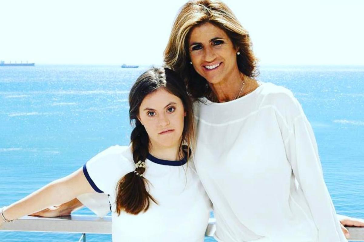 Bibá Pitta e a filha, Madalena