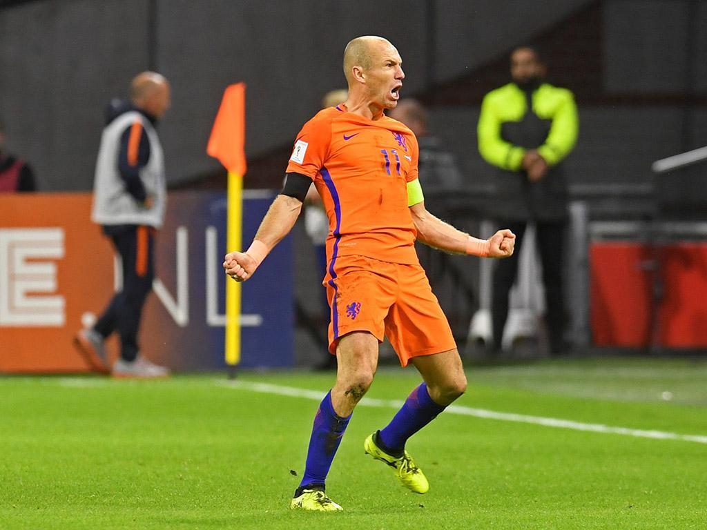 Robben - Holanda (Reuters)