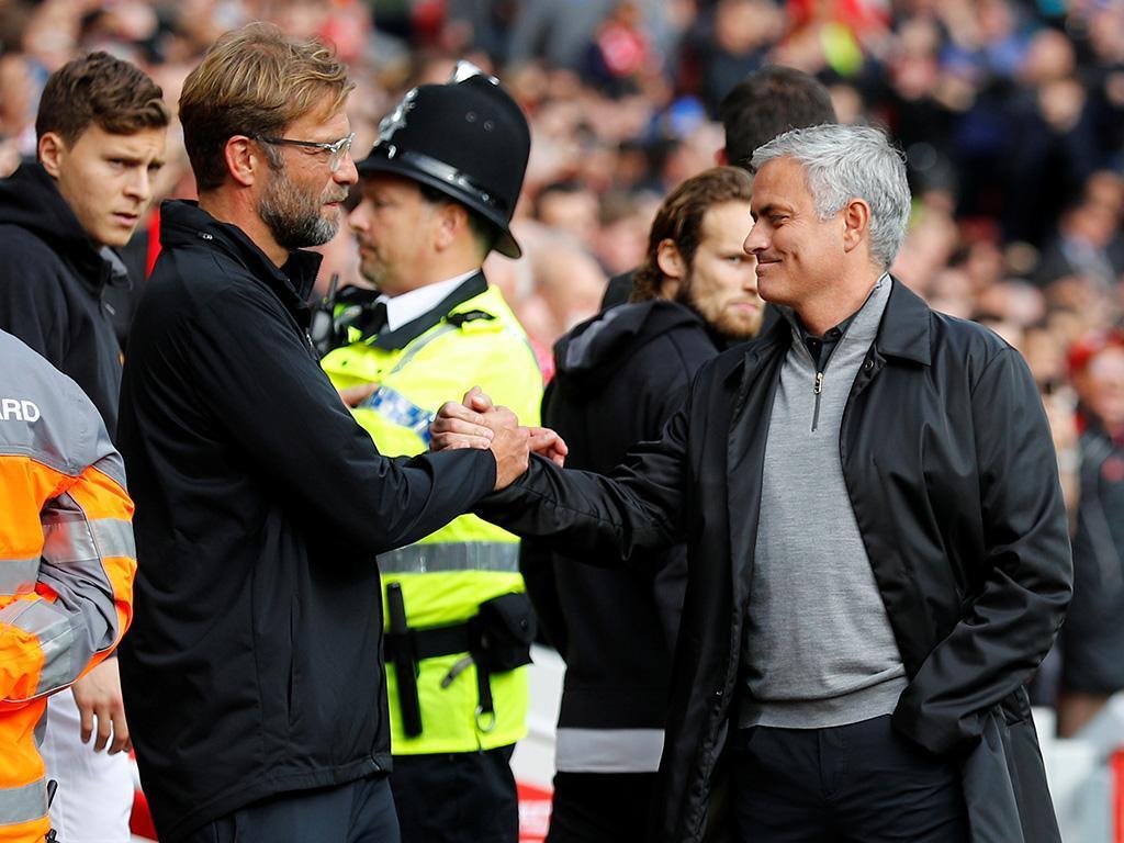 Mourinho e Klopp  (Reuters)