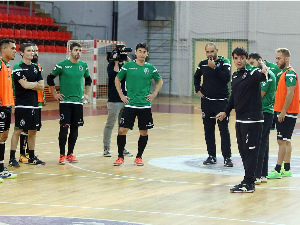 Futsal Sporting (Fonte: Sporting)