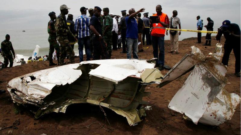 Costa do Marfim - Queda de avião