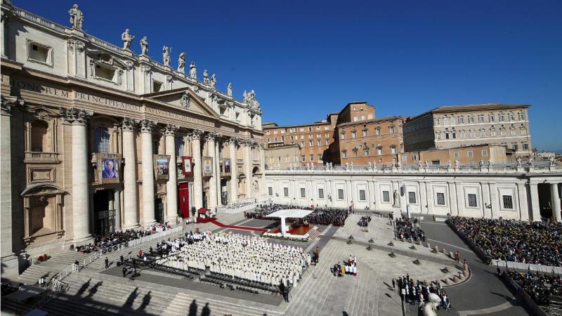 Vaticano - canonização do padre português Ambrósio Francisco Ferro