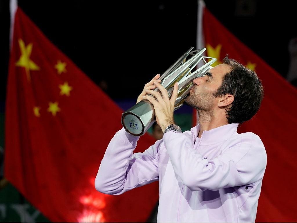Federer vence Masters 1000 de Xangai (REUTERS/Aly Song)
