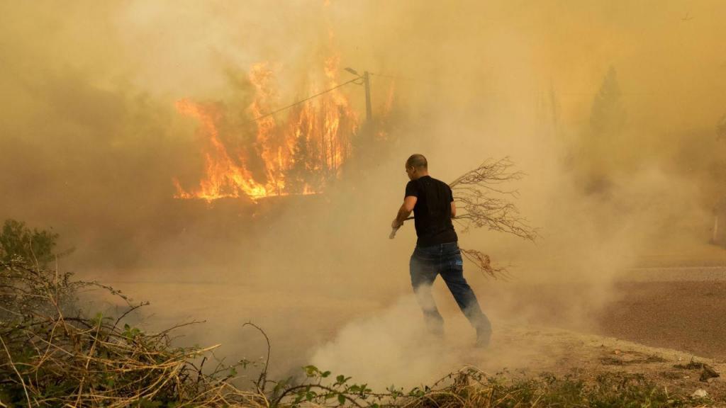 Incêndio na Lousã