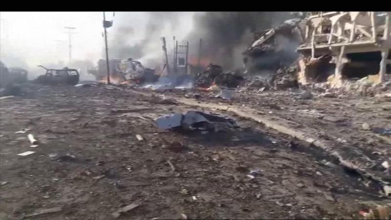 Mais de 200 mortos em ataque na Somália