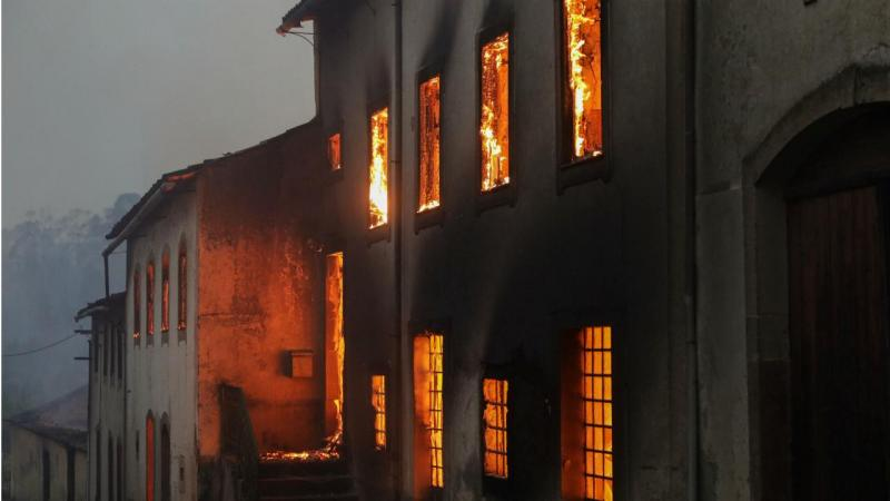 Incêndio em Vila Nova de Poiares