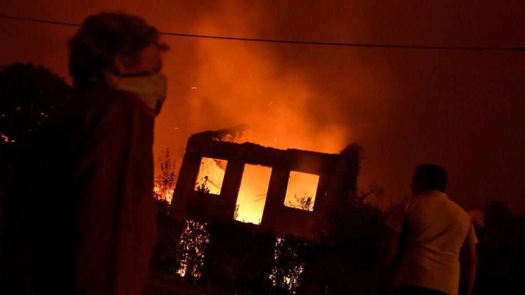 Incêndio em Tondela