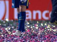 Exagero de Confettis no Patronato-Boca Juniors