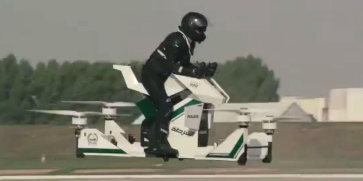 O Robocop voa no Dubai
