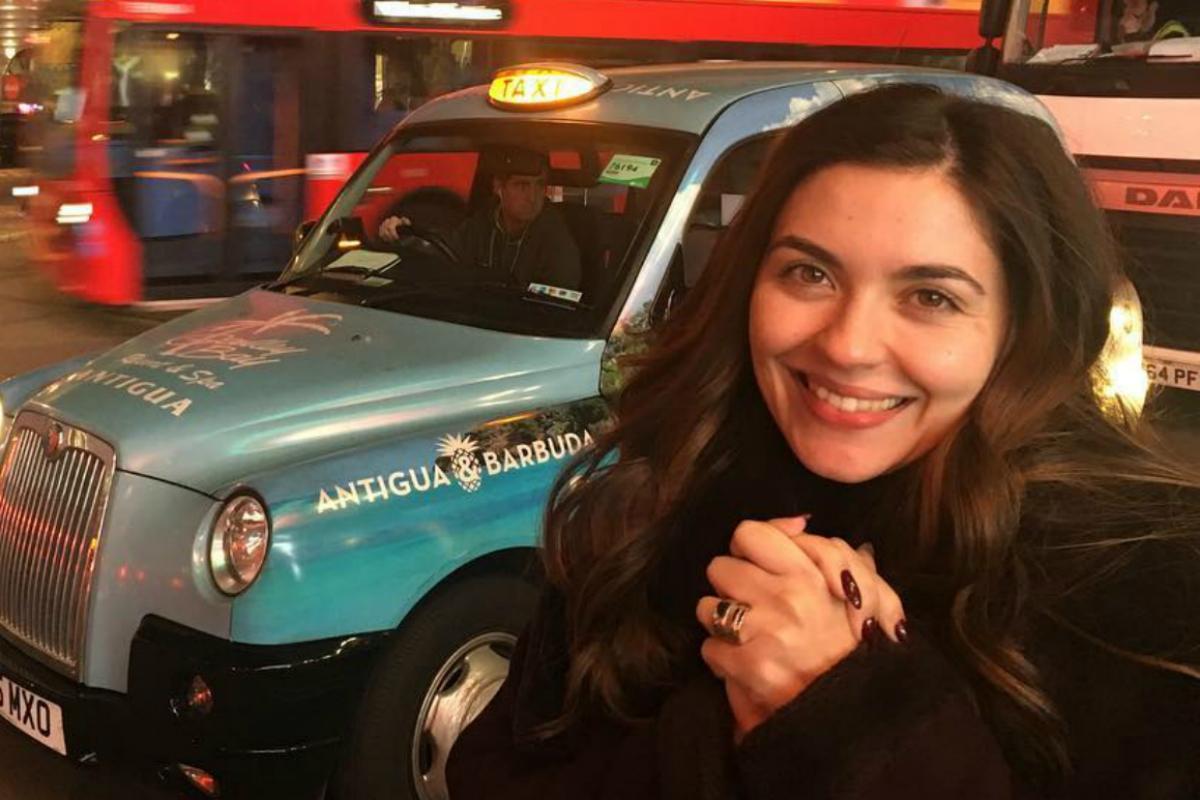 Sara Barradas vive momento único com a filha