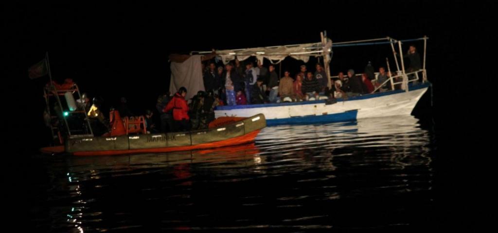 Migrantes Lampedusa
