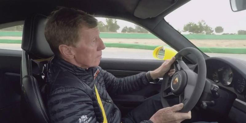 Mestre Röhrl ao volante do GT3