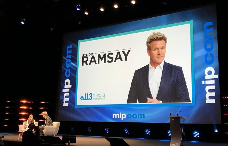 Gordan Ramsay no Mipcom