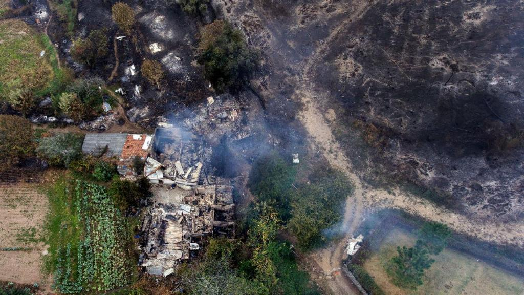 Incêndio em Braga