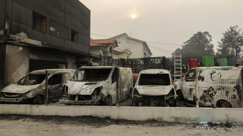 Incêndio em Oliveira do Hospital