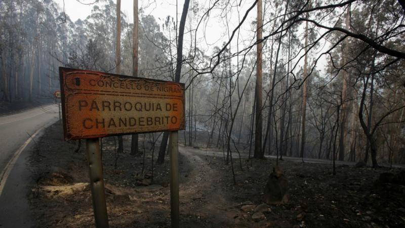 Incêndios - Chandebrito (Galiza)