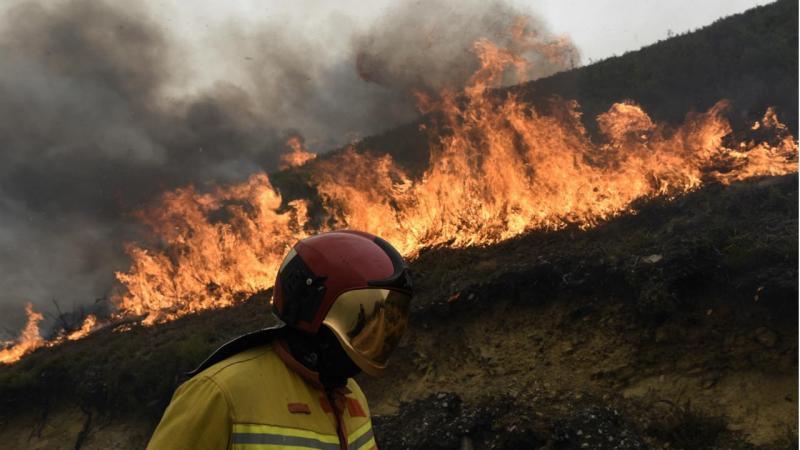 Incêndios - Tablado (Astúrias)