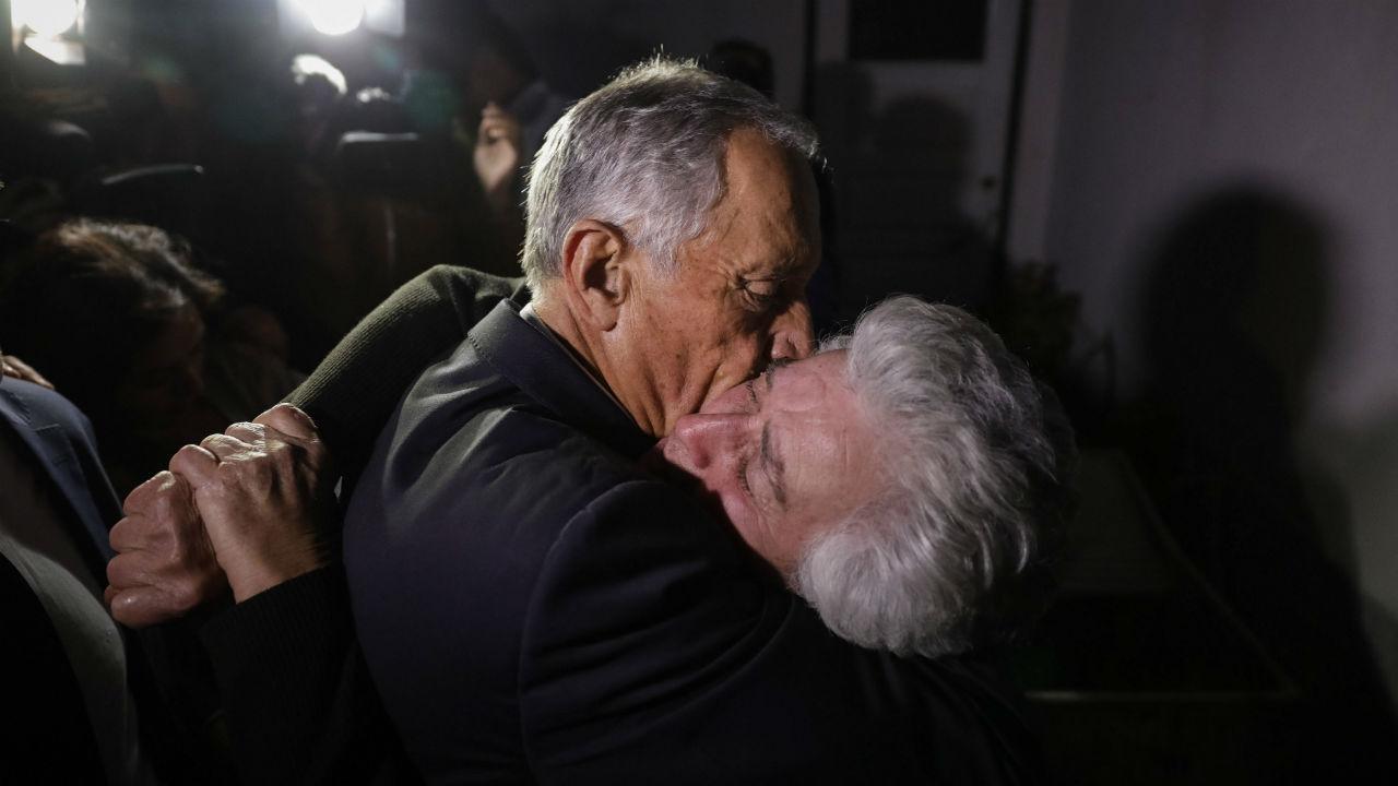 Marcelo Rebelo de Sousa visita localidades afetadas pelos fogos