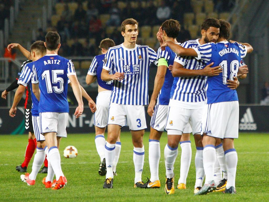 Vardar-Real Sociedad ( Reuters )