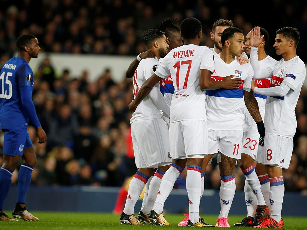 Everton-Lyon (Reuters)