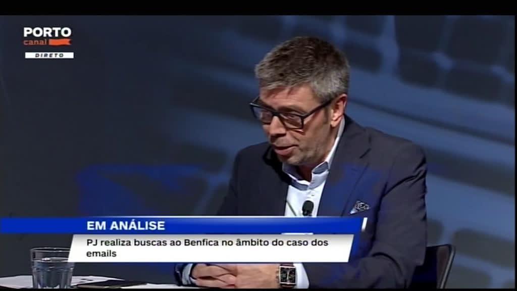 A reação do FCPorto às buscas ao Benfica