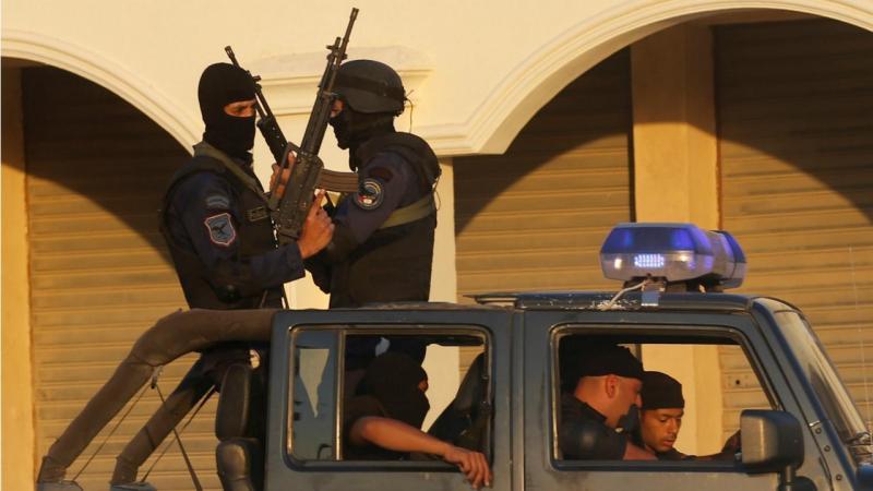 Egito - polícia anti-motim (arquivo)