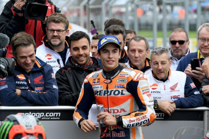 Marc Márquez - GP Austrália (Lusa)