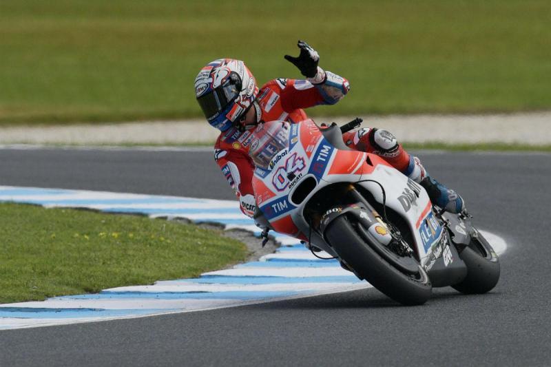 Andrea Dovizioso - GP da Austrália (Lusa)